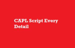 CAPL Script Every Detail