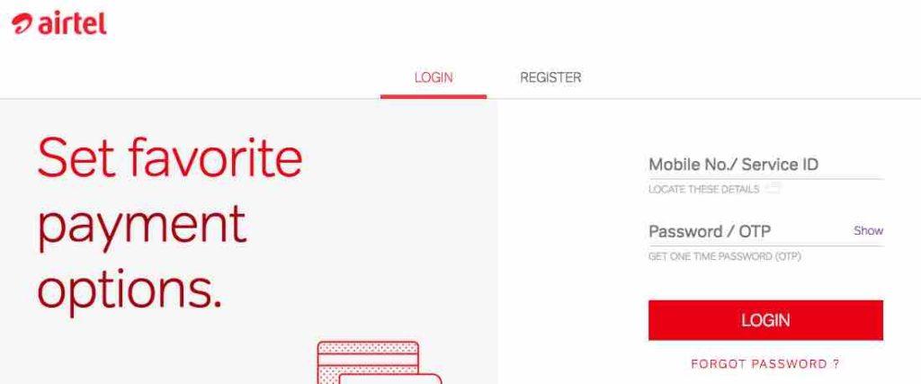 Airtel Secure Claim Process