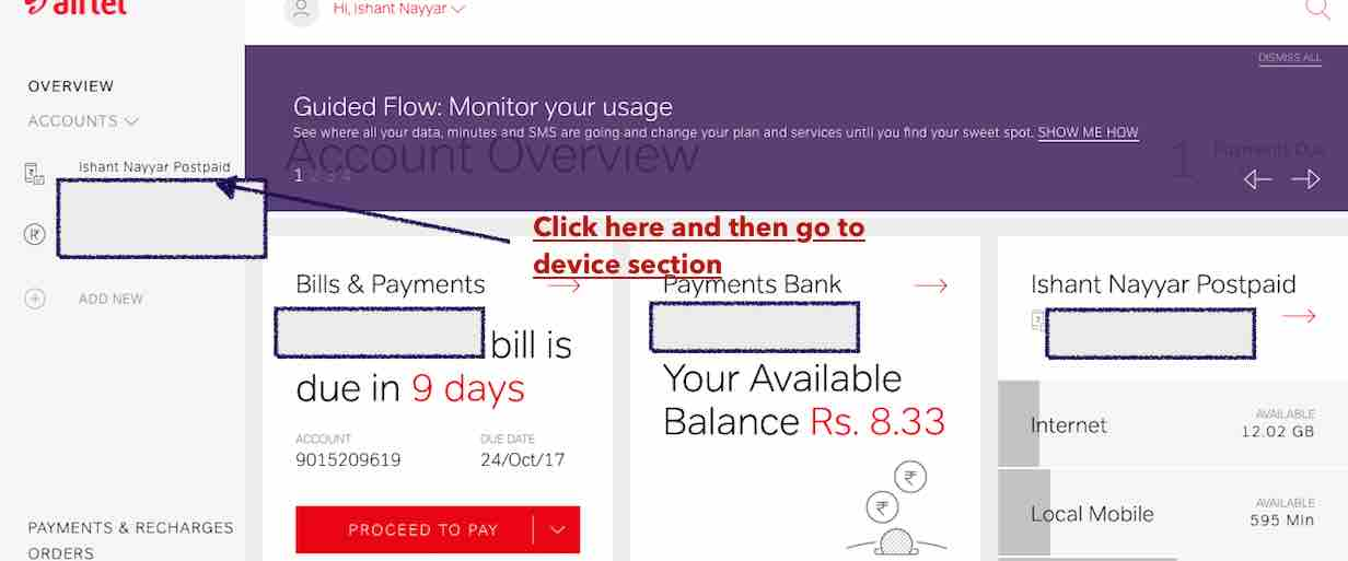 How to get Airtel Secure Claim