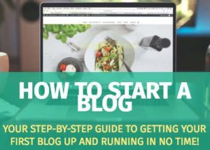 how to make a blog