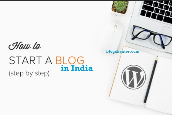 how to start blog a in india