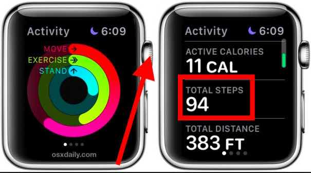 how to lose weight with apple watch- count your steps