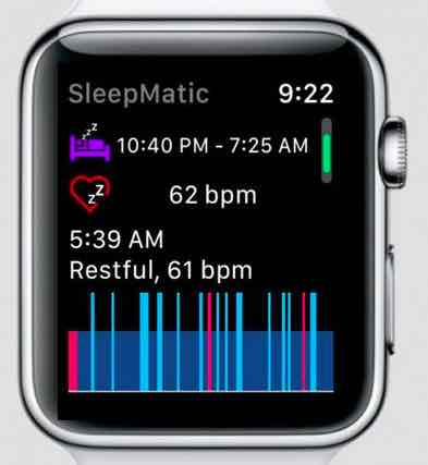 how to lose weight with apple watch- monitor your sleep