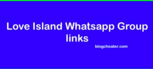 love island whatsapp group links