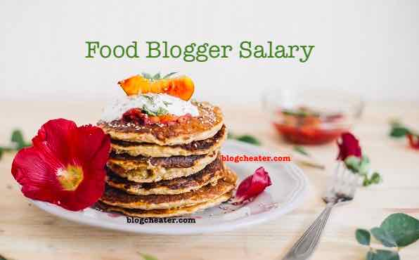 food blogger salary and income
