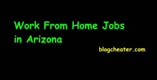 Work From Home Jobs in Arizona