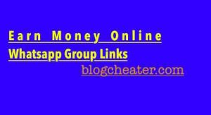 Earn Money Online Whatsapp Group Links