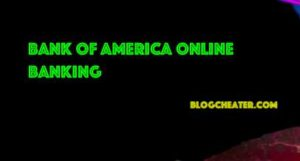 Bank of America Online Banking