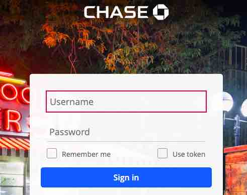 Chase Bank Login