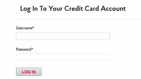 Post office credit card login