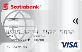 Scotiabank Value VISA credit card