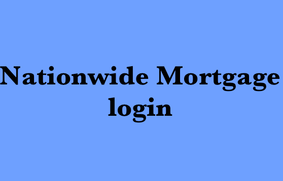 Nationwide Mortgage login