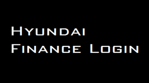 Hyundai Finance Login